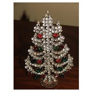 Czech Standing Christmas Tree Decoration
