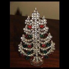 Czech Standing Christmas Tree Decoration