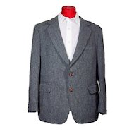 1960's Alexander Shields Park Avenue Men's Tweed Sport Coat