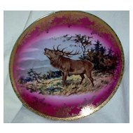 STW Bavaria Germany Elk Plate