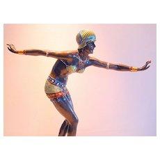 """""""Phoenician Dancer"""" by D H Chiparus"""
