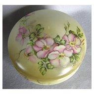 Nippon Porcelain Covered Box