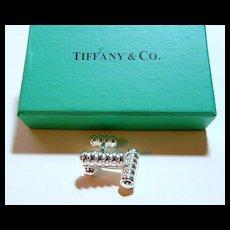 Silver Cuff Links withTiffany Box