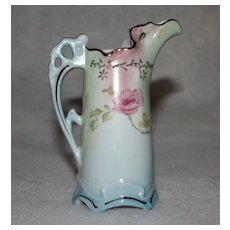Pastel Ewer Vase Pitcher Marked R S Prussia