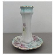 Porcelain Hat Pin Holder Marked RS Suhl