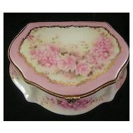 Limoges China Trinket Box
