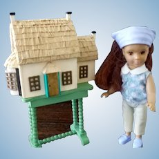 Vintage Artist Made 1:144 English Dollhouse for your Dollhouse Miniature