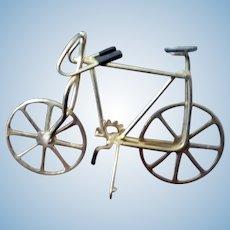 Vintage BICYCLE BIKE Metal 1:12 Dollhouse Miniature Made in Columbia