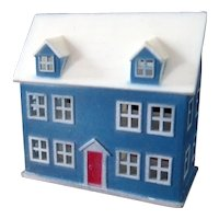 Vintage 1:12 Scale DOLLHOUSE FOR A DOLLHOUSE Dollhouse Miniature