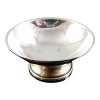 1970s Sterling Silver COMPOTE BOWL Artist Raimond Dollhouse Miniature 1:12