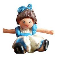 Artist Made DOLLHOUSE DOLL 1:12 Dollhouse Miniature