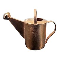 LOVELY Artist Made Copper WATERING CAN 1:12 Dollhouse Miniature