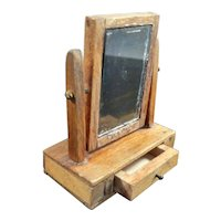 Vintage TYNIETOY Dressing Table Glass 1:12 Dollhouse Miniature