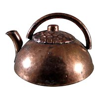 TYNIETOY Copper Tea Kettle 1:12 Dollhouse Miniature