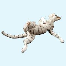 Artist Made OOAK CAT 1:12 Dollhouse Miniature
