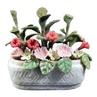Artist Made FLOWERS in POT 1:12 Dollhouse Miniature