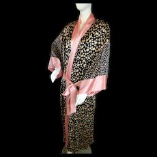 Rare Vintage GUY LAROCHE Asian Style SILK ROBE French Designer