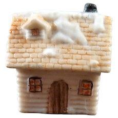 Vintage COTTAGE Shelf Christmas Décor 1:12 Dollhouse Miniatures