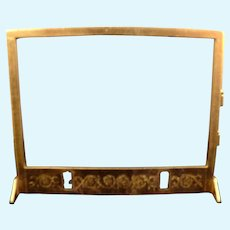 Vintage Ormolu FIREPLACE INSERT 1:12 Dollhouse Miniature