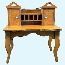 Antique 1890s German Schneegas DESK 1:12 Dollhouse Miniature