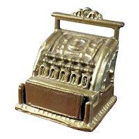 Vintage CASH REGISTER 1:12 Dollhouse Miniature