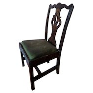 Lovely Wooden Chippendale Dining Chair Dollhouse Miniature