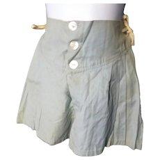 1930s SHIRLEY TEMPLE Movie Wardrobe Blue Dance Pants