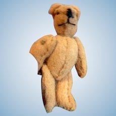 "Artist Made Antique Style 2"" Stuffed Bear Articulated Dollhouse Miniature"