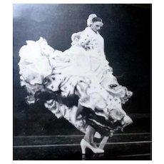 Original 1950s-70s Flamenco 36 Art Dance Photos & Scrap Book MARGO VASQUES Dancer