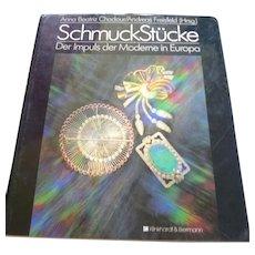 Modern European Fine Jewelry Book Schmuchstucke Der Impuls der Moderne in Europa 1990