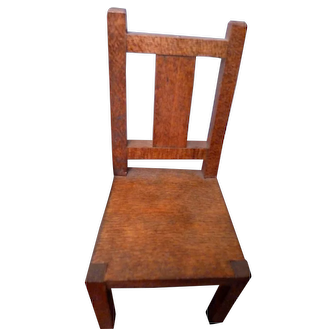 Vintage Artist Made 2 Chairs & Ottoman Dollhouse Miniature FROM MUSEUM