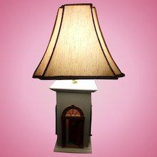 Artist Made DOLLHOUSE LAMP Full Size Not Miniature