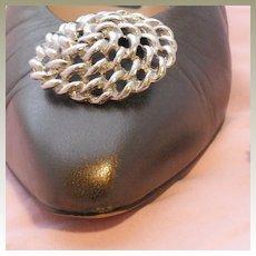 MUSI Circular Metal Shoe Clip