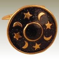 MUSI Shoe Clip – Moon & Stars Epoxy
