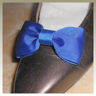 MUSI Shoe Clip Royal Blue Faille