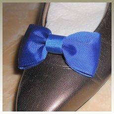 MUSI Shoe Clip Royal Blue Faille