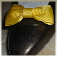 MUSI Shoe Clip Yellow Faille