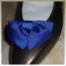 MUSI Shoe Clip – Royal Blue Faille
