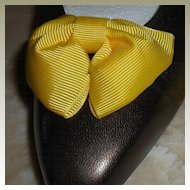 MUSI Shoe Clip – Yellow Faille