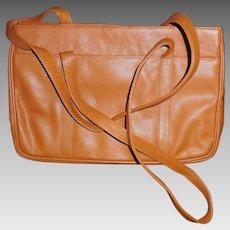 a90fade7e434 Tan Leather Tote Bag Purse by MUSI