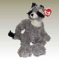 """TY Beanie Babies Raccoon - """"Radcliffe """" - 9"""" Plush Soft Toy Stuffed with Movable Joints."""