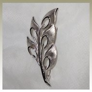 Kramer Spray of Leaves Pin Brooch