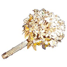 Hand Wired Bouquet Pin Brooch Originals by Robert