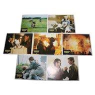 Hanover Street Film Cinema Lobby Cards Posters Original x 6 Harrison Ford Lesley-Anne Down Christopher Plummer
