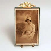 1860 Napoleon III Photograph Frame Easel Picture Stand