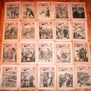 Sixty Six First World War Illustrated Magazines American British Australian Canadian Interest over 5000 Pictures