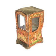 1870 French Sedan Polychrome Case accessory for French Fashion Doll Collection S817