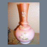 Antique Mount Washington Cased Glass Vase