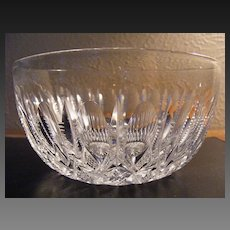 Hand Cut Lead Crystal Salad, Dessert or Fruit Bowl