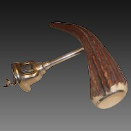 Antique Antler Handle Corkscrew